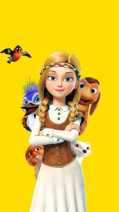 冰雪女王4:魔镜世界 海报 电影