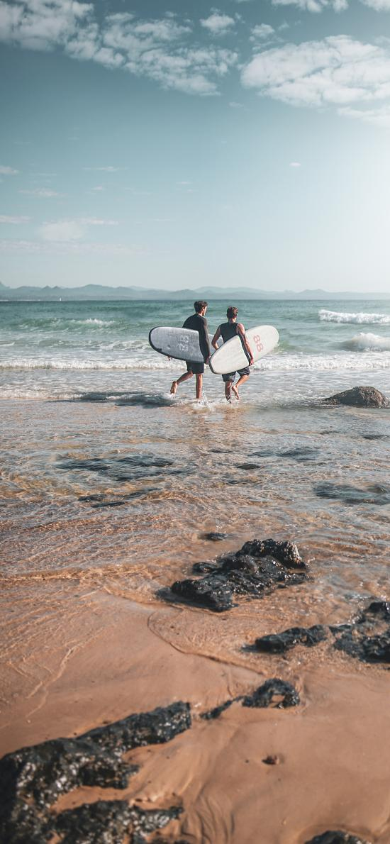海边 冲浪 海水 冲浪