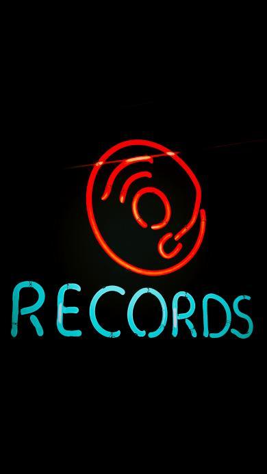 灯管 字母 发光 records 记录