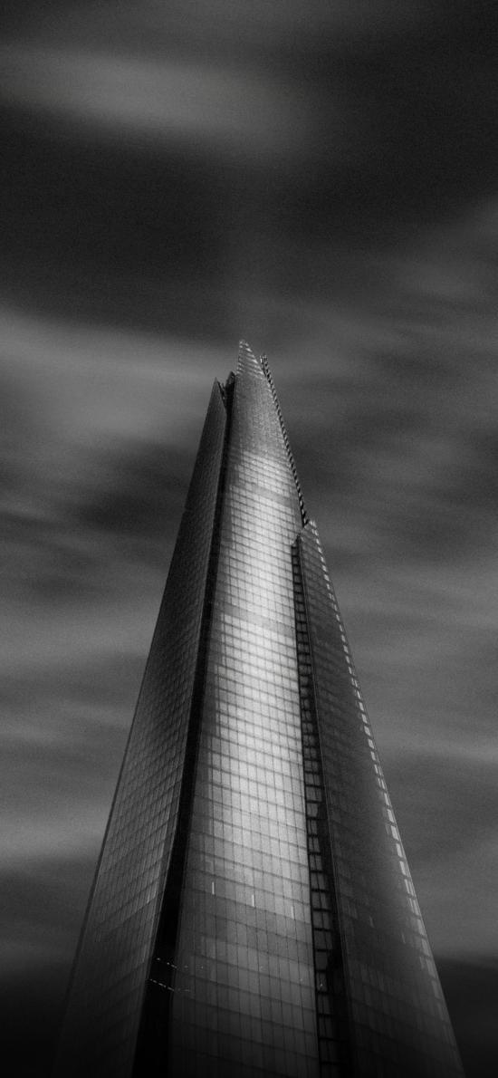 建筑 高楼 黑色 设计 箭头