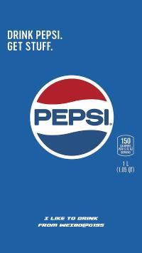 百事 品牌 蓝 可乐 饮品