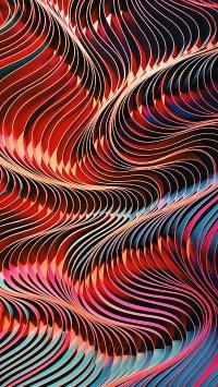 炫彩 色彩 曲线 密集