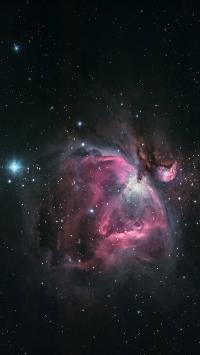 星空 宇宙 行星 苹果