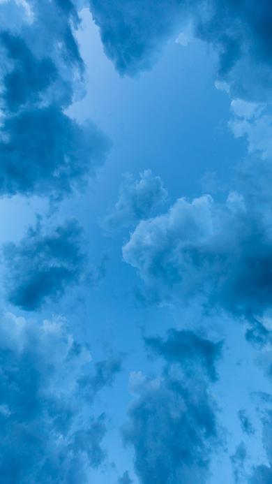 云彩 云朵 蔚蓝 天空