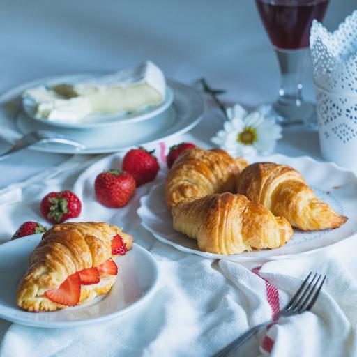 餐点 可颂 羊角包 草莓