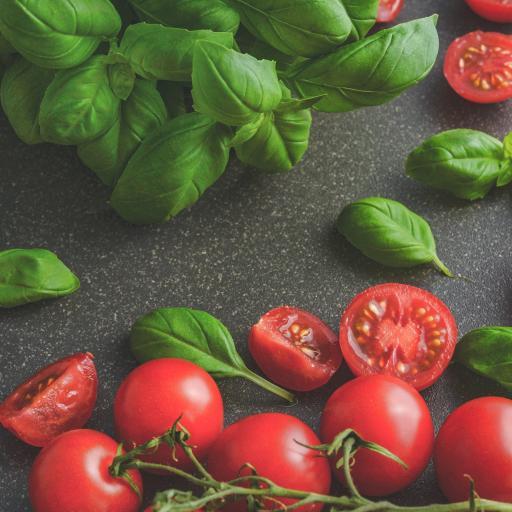 番茄 水果 新鲜 薄荷