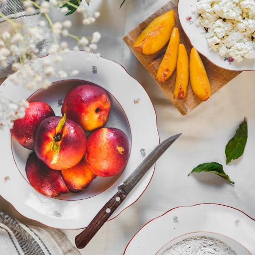 油桃 桃子 新鲜 水果