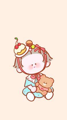 卡通 绘画 可爱 小熊