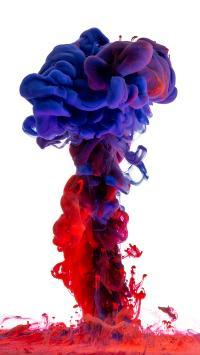 色彩 蓝色 红色 渲染