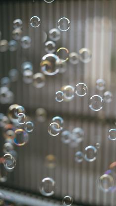 泡沫 气泡 漂浮 密集