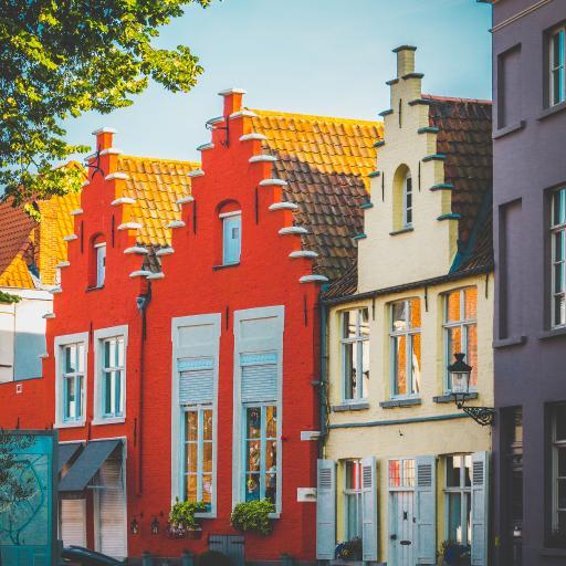 建筑 色彩 街道 房屋