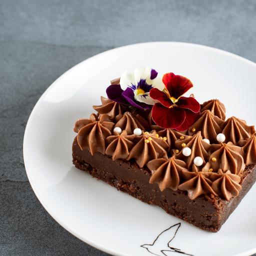 甜品 蛋糕 糕点 巧克力 裱花