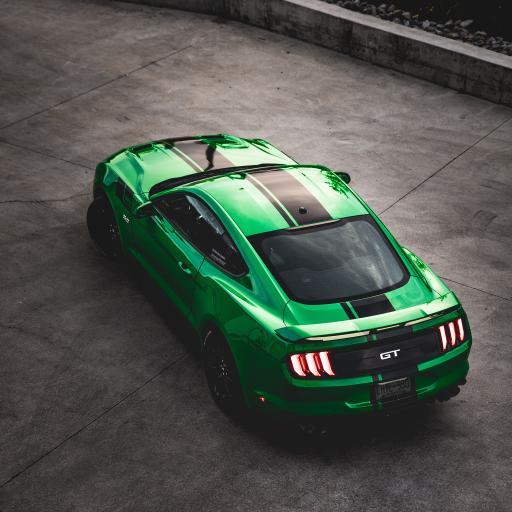 跑车 GT 汽车 绿