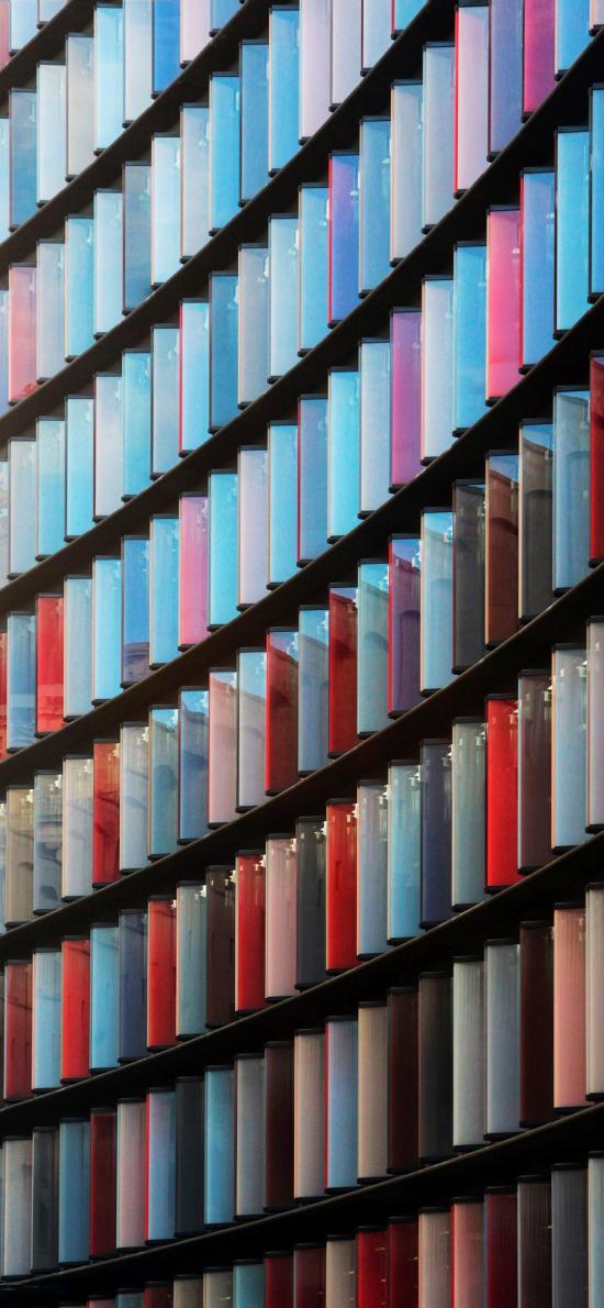 色彩 窗戶 排列 間距