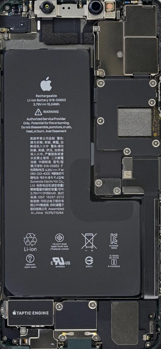 電池 后板 零件 蘋果