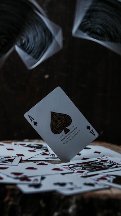 紙牌 撲克牌 黑桃A