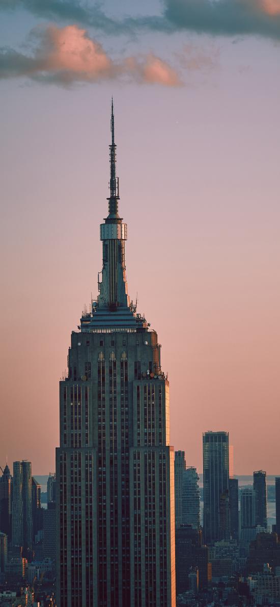 高樓 大廈 夕陽 城市