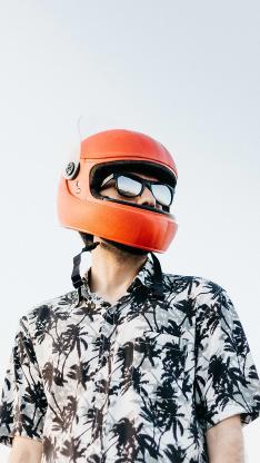 偶尔米 型男 骑手 头盔