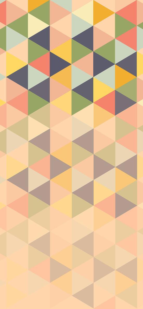 幾何 色彩 三角 菱形