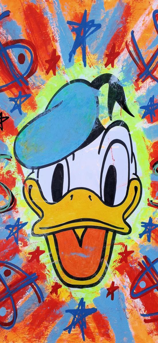 卡通 迪士尼 唐老鸭(取自微博:G195)