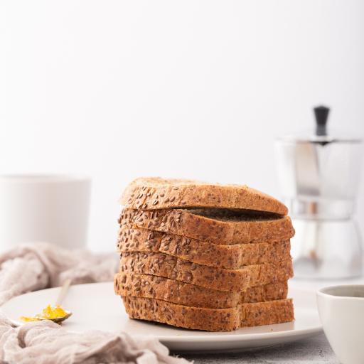 吐司 面包 全麦 烘烤