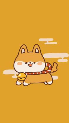 可爱 柴犬 黄 短腿