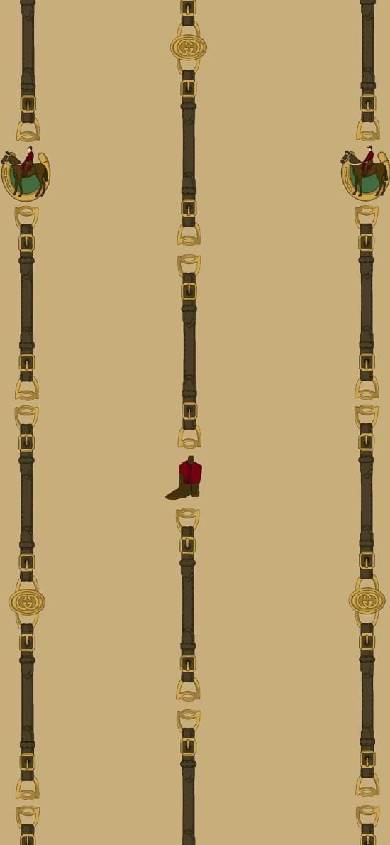 Gucci 品牌 奢侈品 皮带 插图 (取自微博:G195)