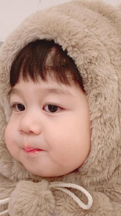 李浠晗 小男孩 可爱 帽子