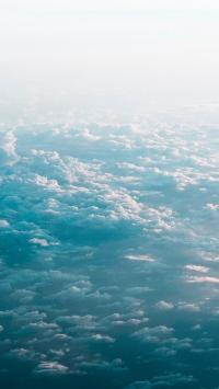 云彩 高空 云层 云海
