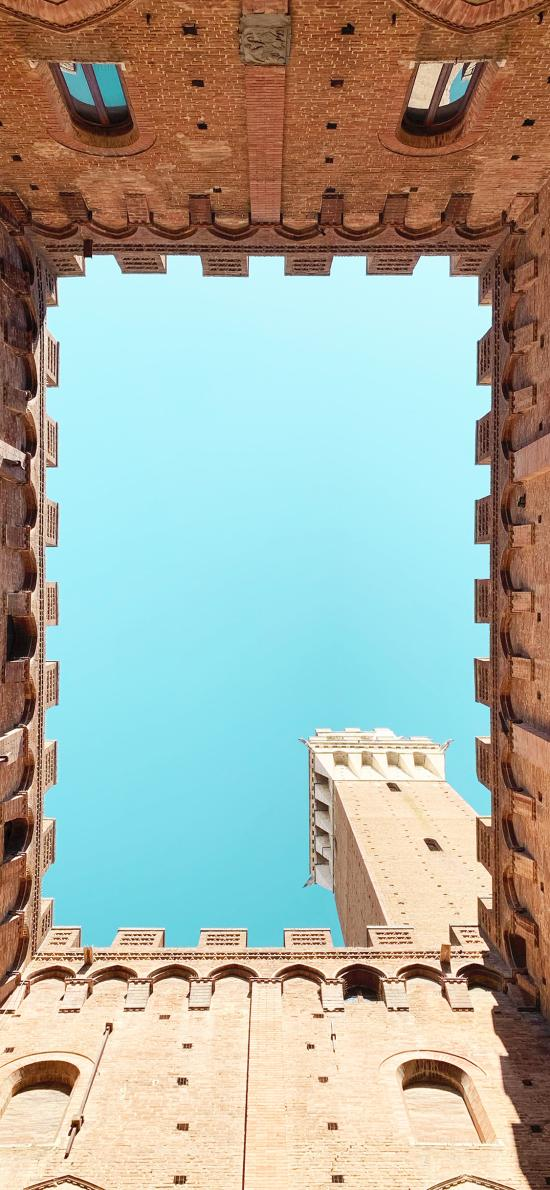 建筑 堡垒 露天 蓝天