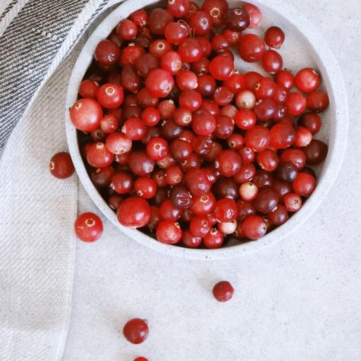 浆果 蔓越莓 水果 新鲜 颗粒