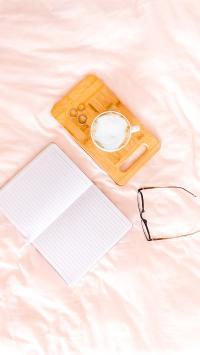 静物 眼镜 笔记本 咖啡