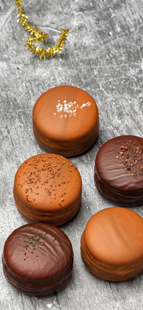 马卡龙 甜食 点心 巧克力