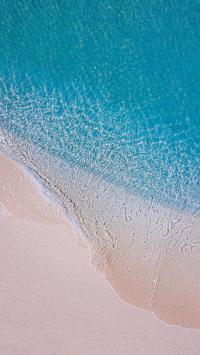 大海 海浪 沙滩 清澈