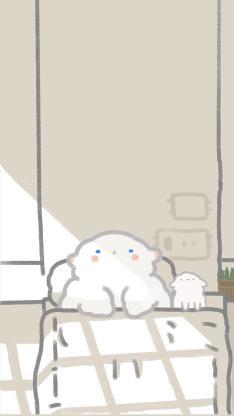 插画 小羊羊 睡觉 可爱(取自微博:只是一只小羊羊)
