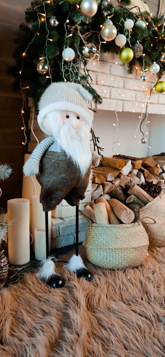 圣誕 木柴 裝飾 木偶