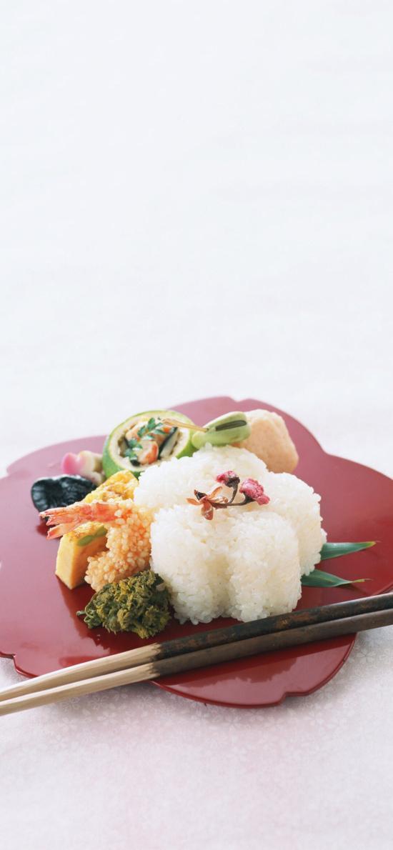 日式 料理 饭团 天妇罗 炸虾