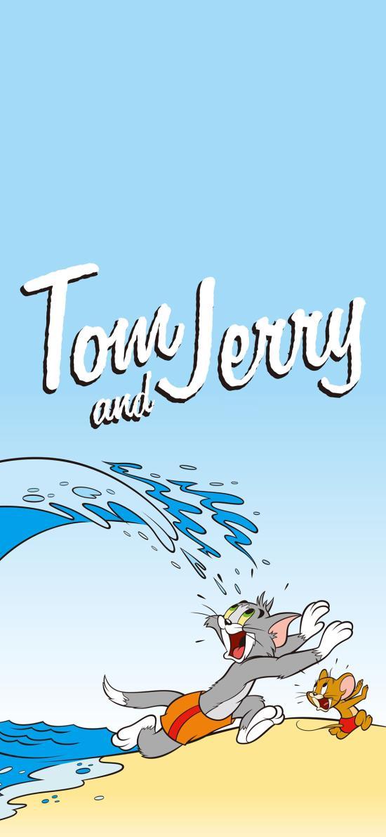 貓和老鼠 Tom and Jerry 沙灘