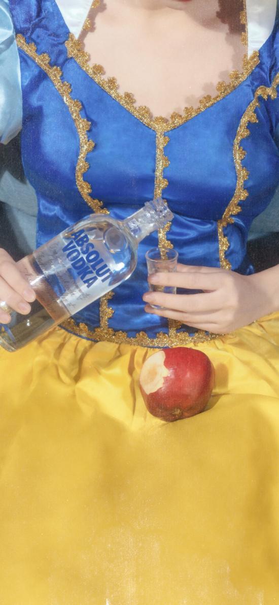洋酒 苹果 迪士尼公主 白雪公主