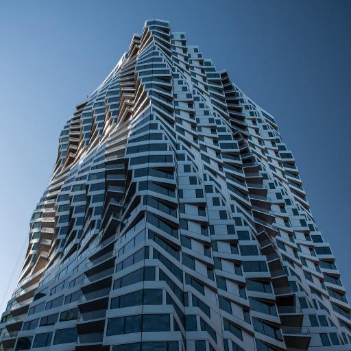 建筑 高楼大厦 设计 曲线