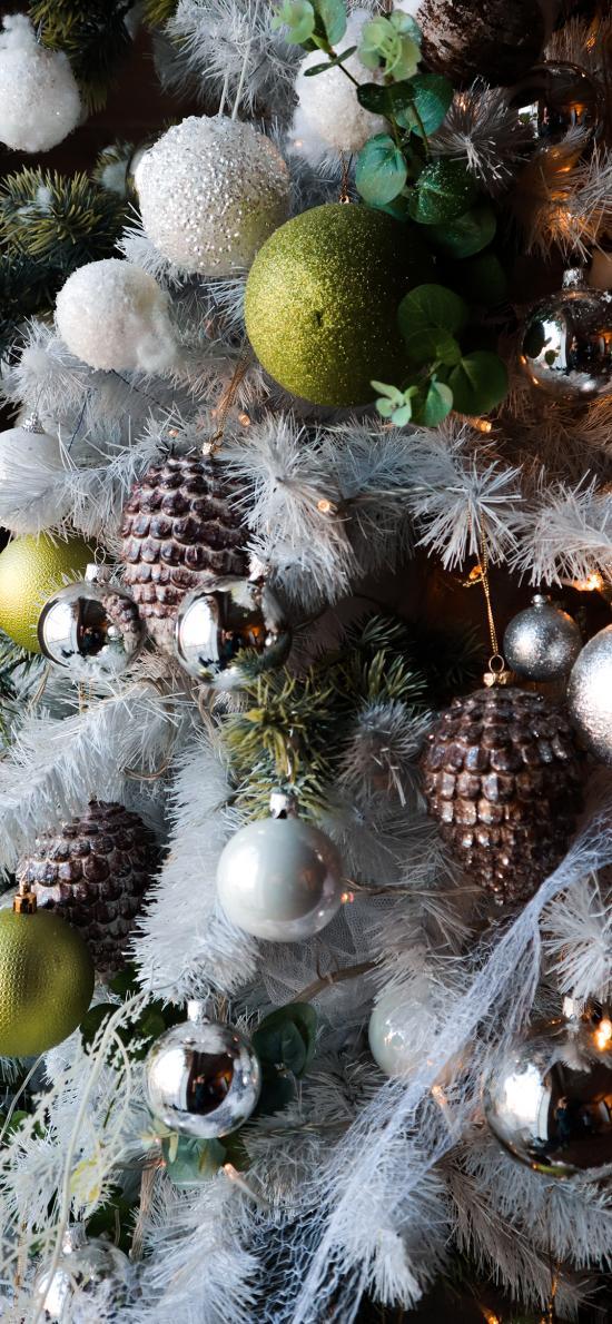 圣诞 装饰 饰品 松塔