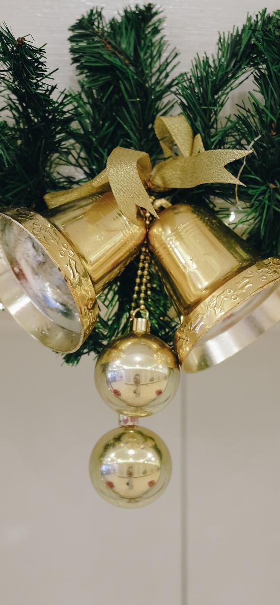鈴鐺 圣誕 氛圍 裝飾
