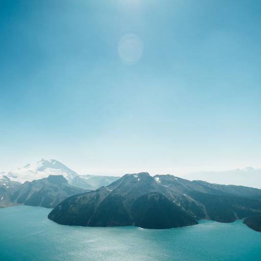 天空 阳光 山水 蔚蓝
