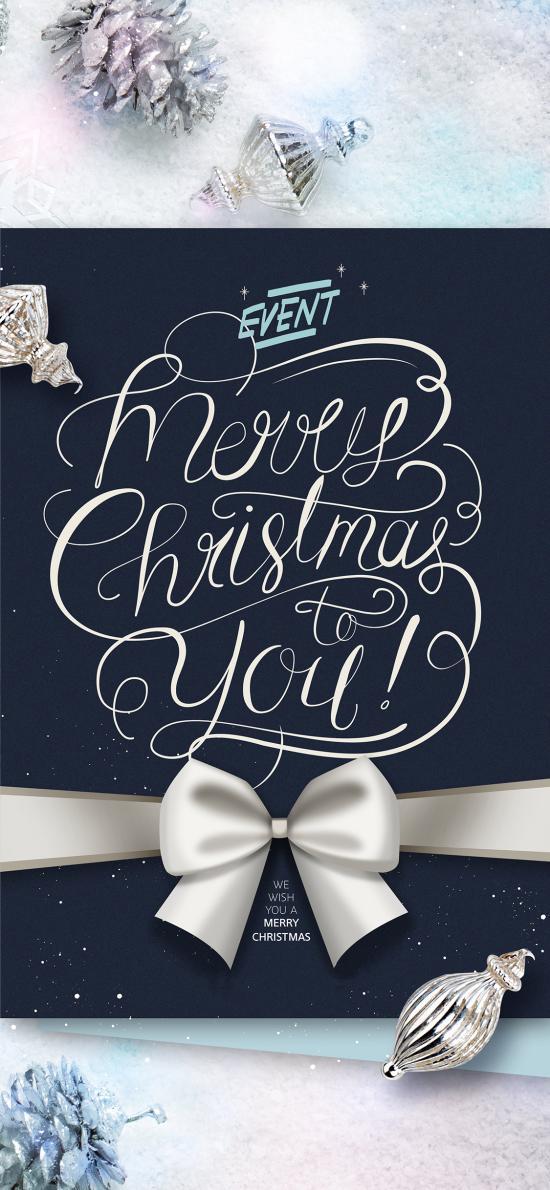 圣诞节 卡片 Merry Christmas to you