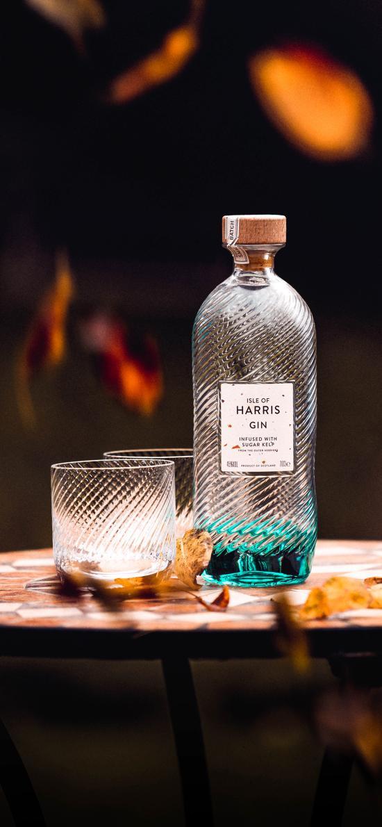 饮品 酒瓶 酒精饮品 蓝色