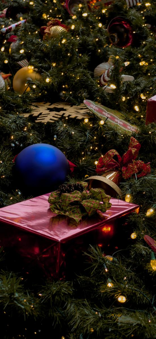 圣诞节 圣诞树 装饰 礼物