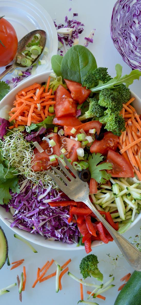 素材 蔬菜 西红柿 紫甘蓝 黄瓜