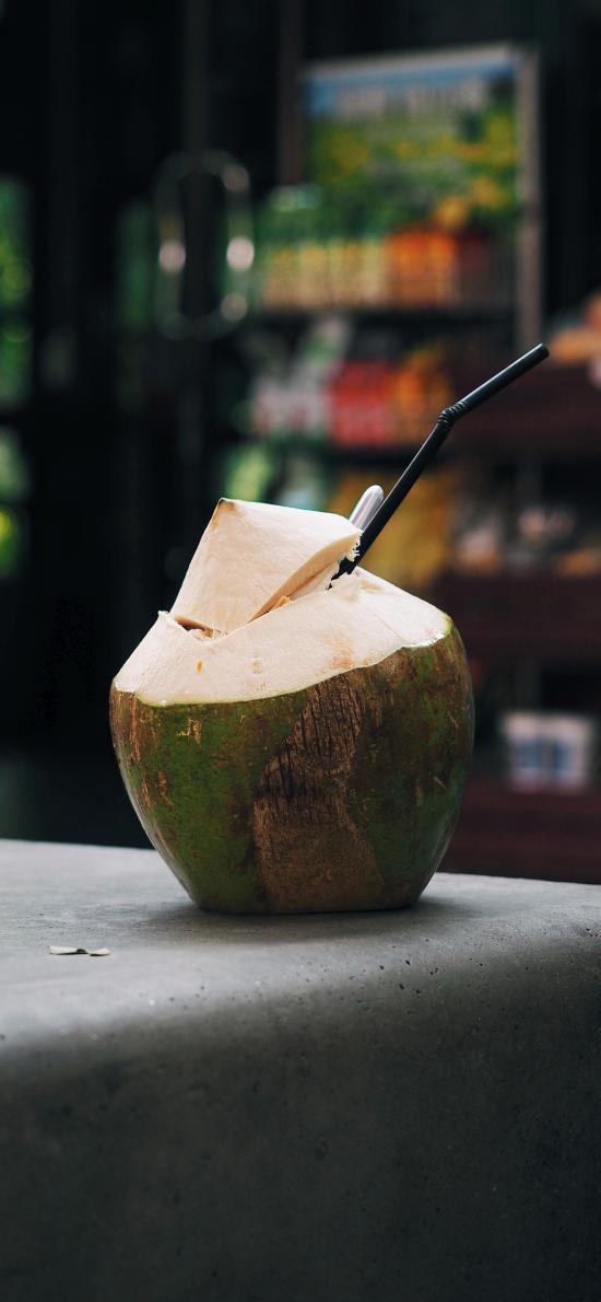 椰子 水果 饮品 椰汁