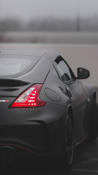汽车 轿车 跑车 车尾