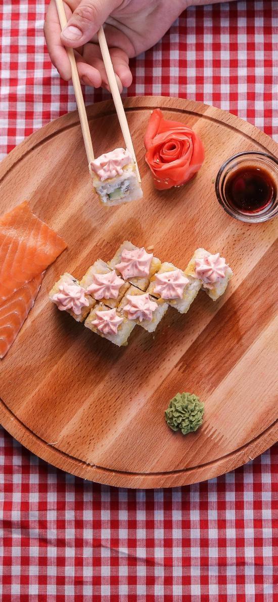 寿司 日本料理 刺身 三文鱼